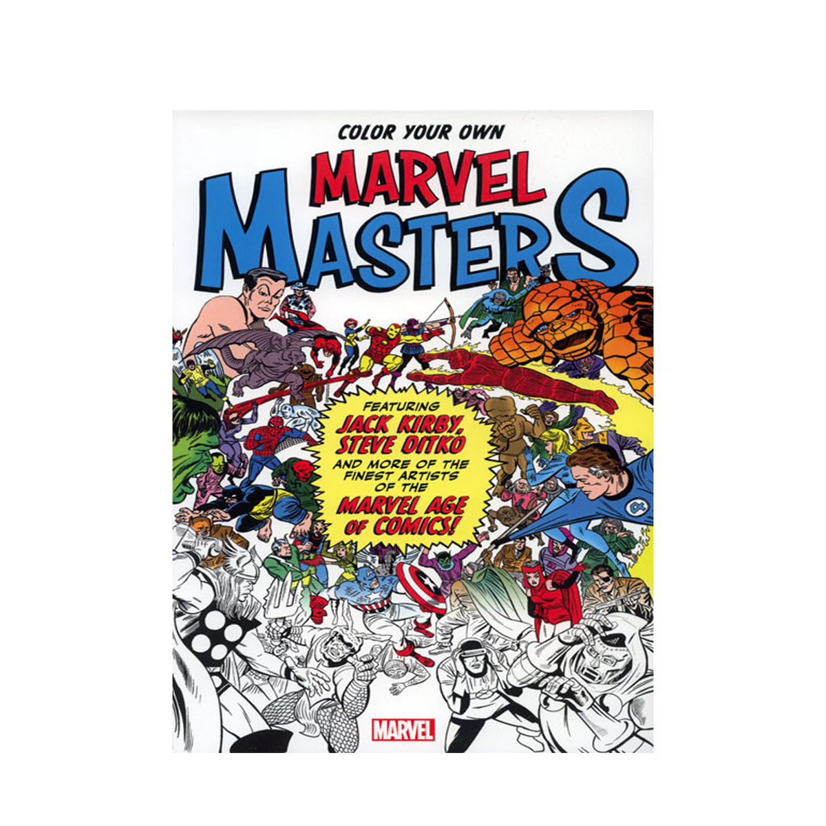 Good360 Donation Catalog Color Your Own Marvel Masters
