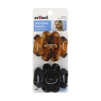 Scunci Jaw Hair Clips 2-Packs