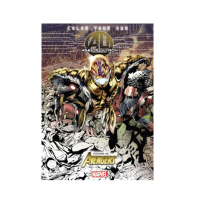 Color Your Own Age of Ultron Marvel Coloring Books