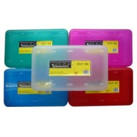 "Student Discount Storage Pencil Box - 8"" x 5"" x 2"""