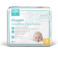 Medline Diapers Size 2 - 25 Packs