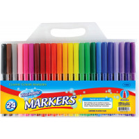 Fine Line Washable Watercolor Markers 24-Packs