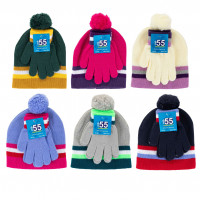 Assorted Kids' Hat and Glove Set