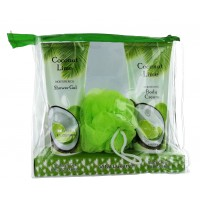Coconut Lime Shower Gel/Body Cream Sets