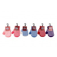 Kids Assorted Color Mittens