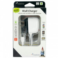 White Micro USB Wall Chargers
