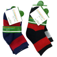 Kid's Crew Design Socks Size 2 - 4