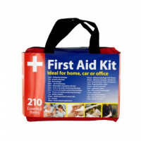 First Aid Kit in Easy Access Carrying Cases